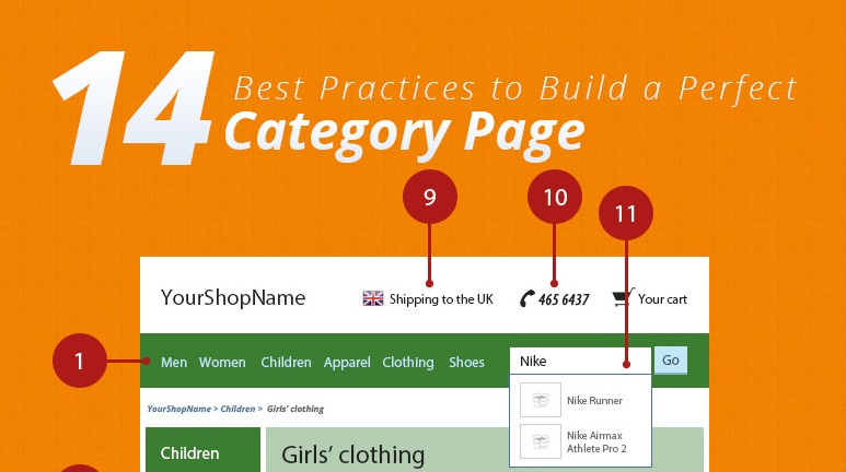 14 Best Practices to Build a Perfect Ecommerce Category Page