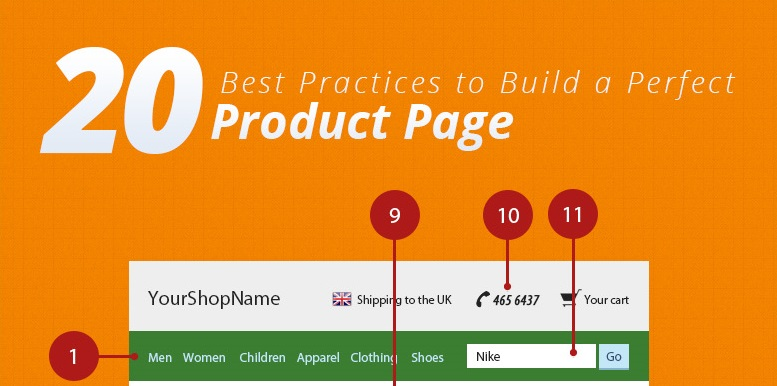 20 Best Practices To Build a Perfect Product Page