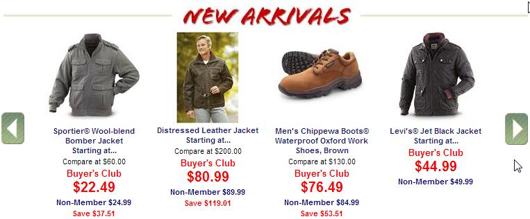 New Arrivals/Seasonal Items