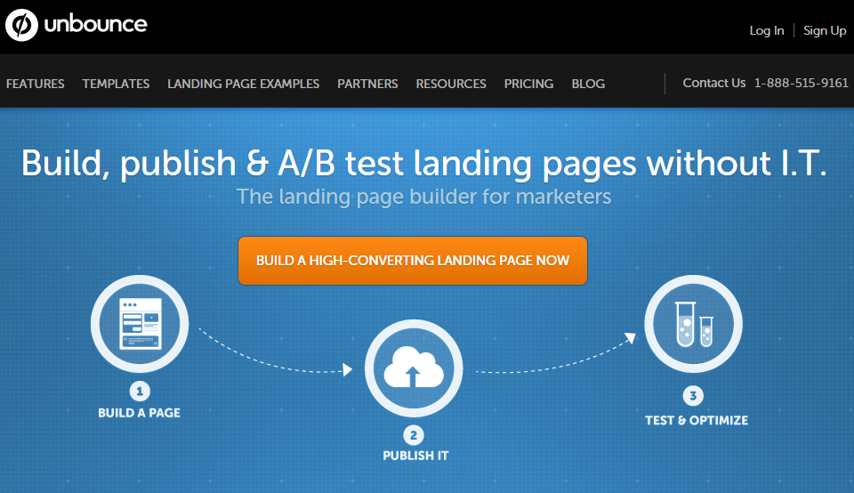 unbounce1 - 10 Tools You Can Use to Boost Your Conversions - Launchrock?