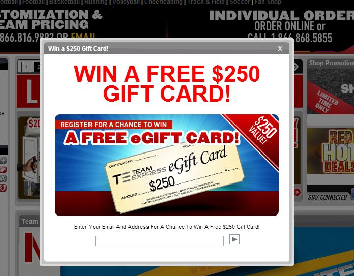 Free eGift Card