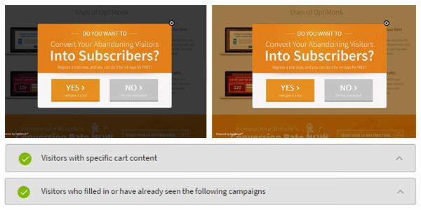 customer segmentation + lightbox