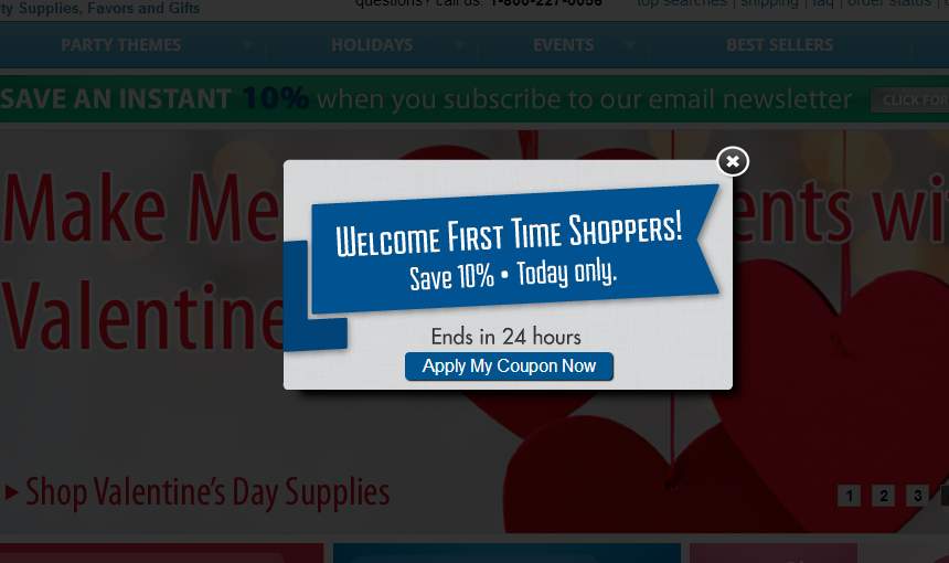 24 tips to increase the sense of urgency in ecommerce site partysuppliesdelivered fandeluxe