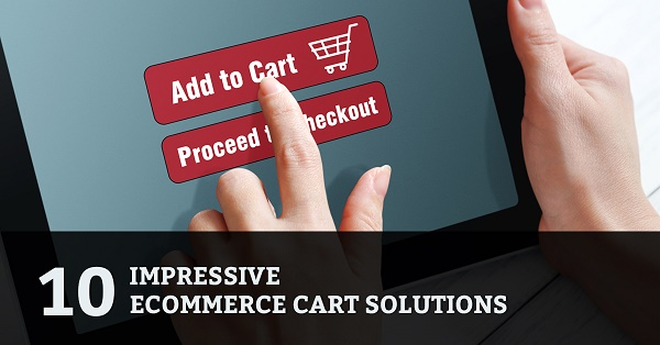 10 impressive ecommerce shopping cart solutions