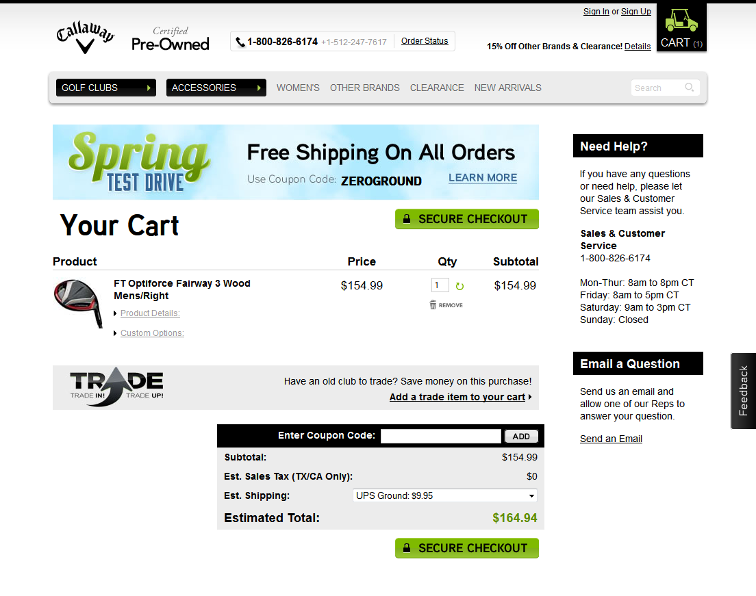 How to Design an ecommerce shopping Cart Page - 10