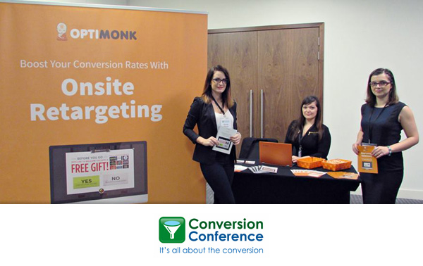 OptiMonk Attends Conversion Conference 2015 in London