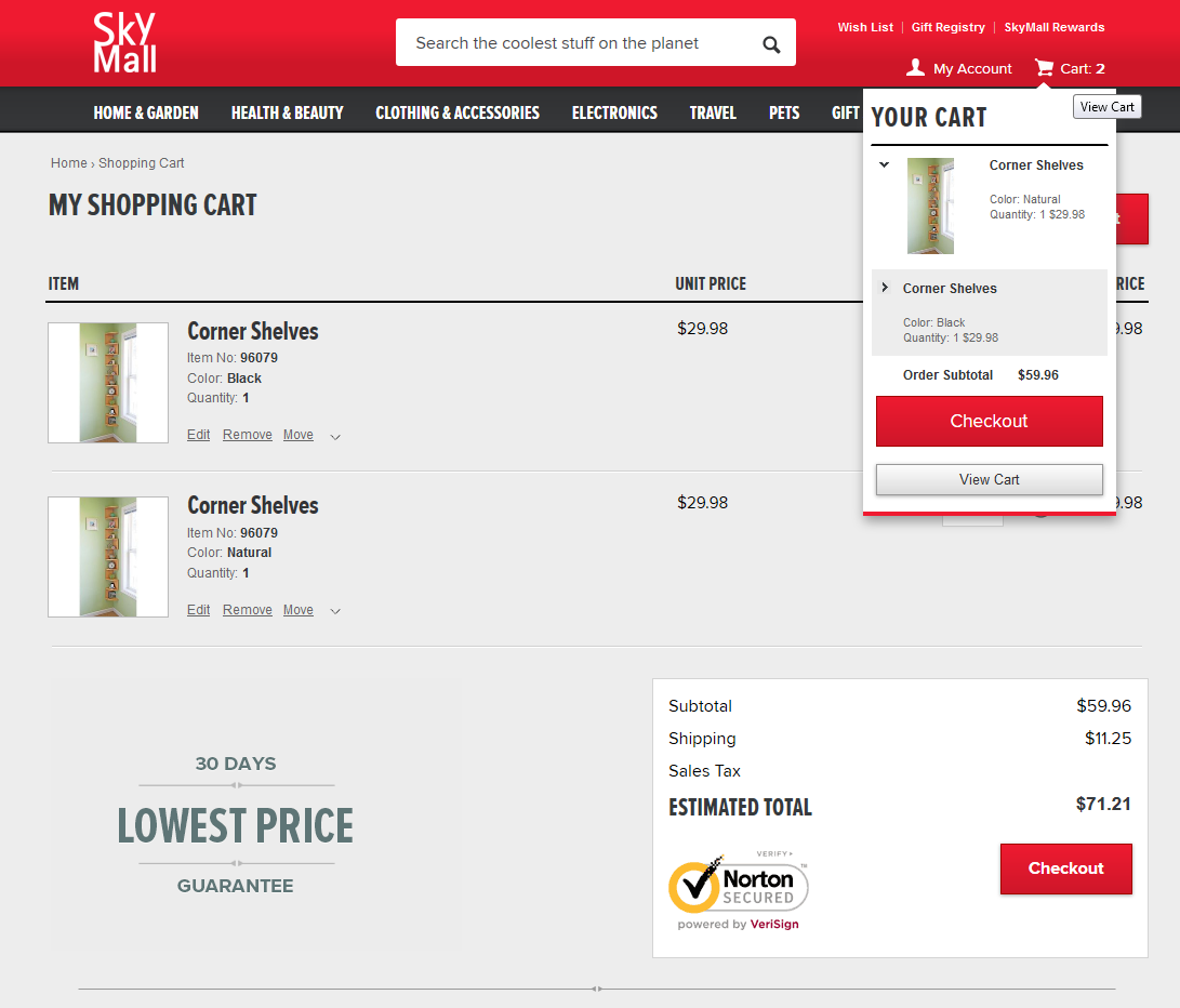 How to Design an ecommerce shopping Cart Page - 10 Impressive examples