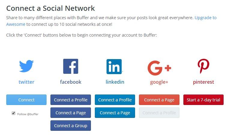 Social media - Buffer