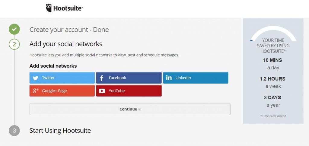 Social media - Hootsuite
