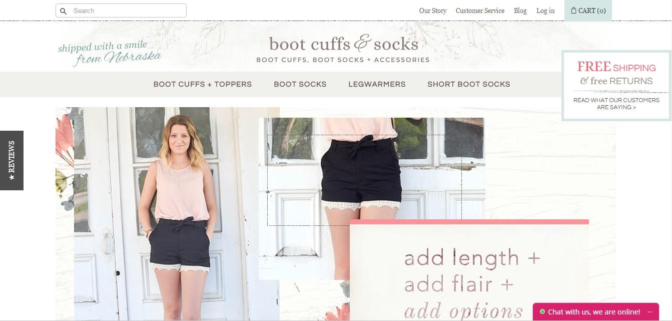 BootCuffsSocks Homepage