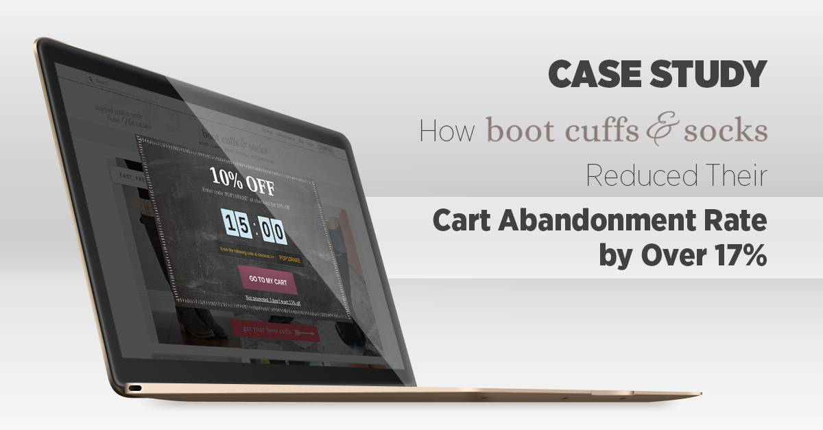 [CASE STUDY] How an eCommerce Store Reduced their Cart Abandonment Rate by Over 17% Using Onsite Retargeting