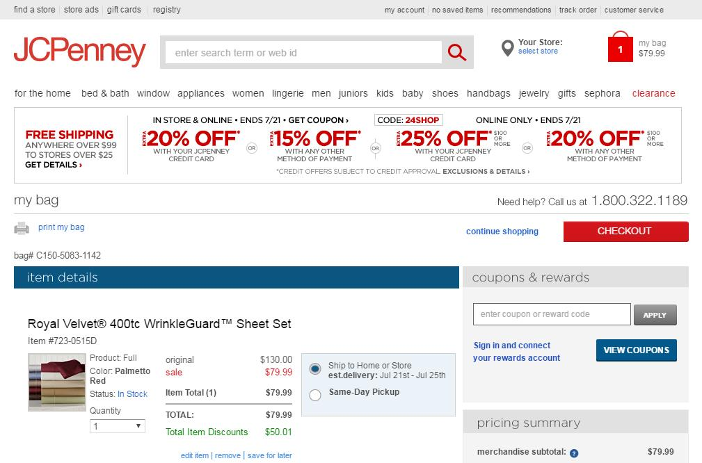 JCPenney-makes-cart-content-editable