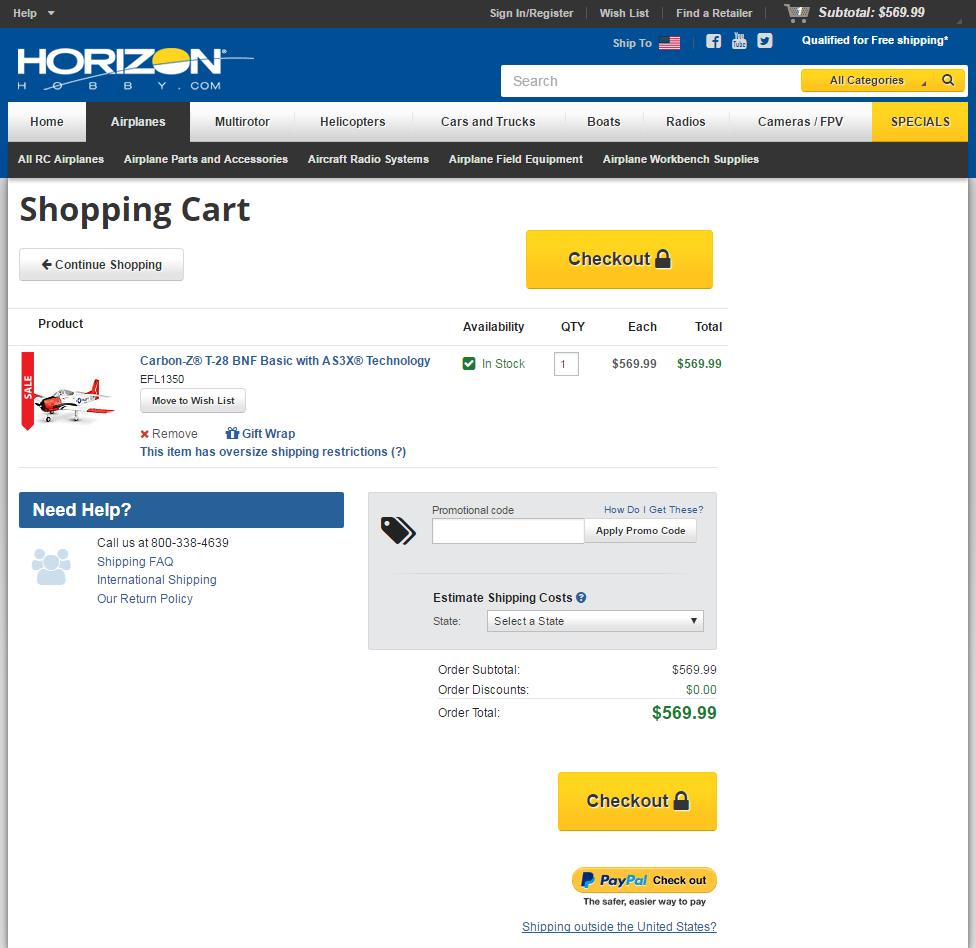 HorizonHobby-always-shows-the-next-step-in-the-checkout
