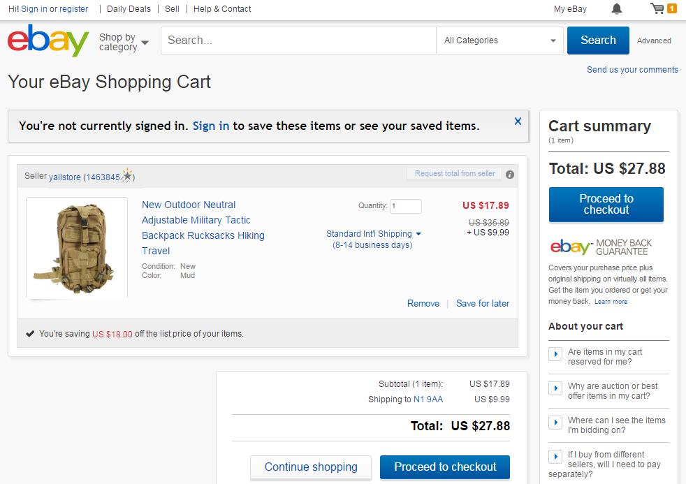 eBay-shows-the-amount-of-savings