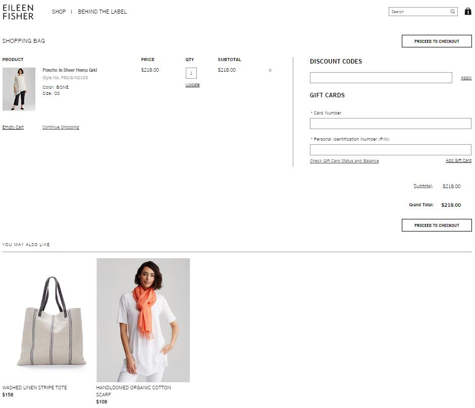 Eileen-Fisher-recommends-supplementary-products