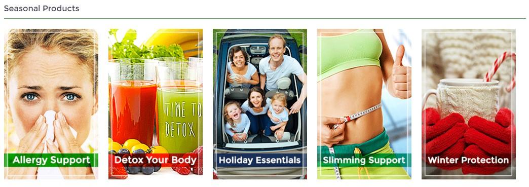 Upselling-seasonal-offer-module-on-homepage