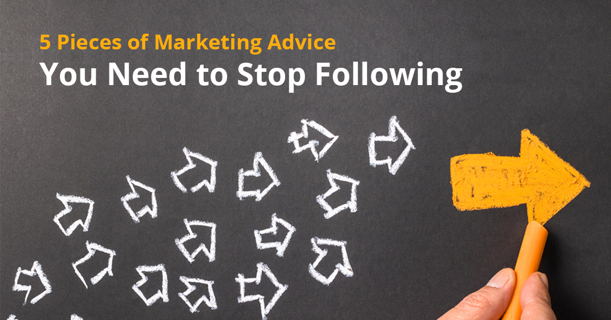 5 pieces of marketing advice