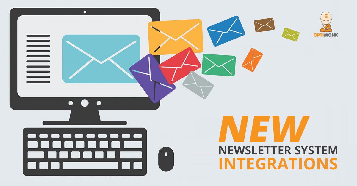 OptiMonk Newsletter System Integrations