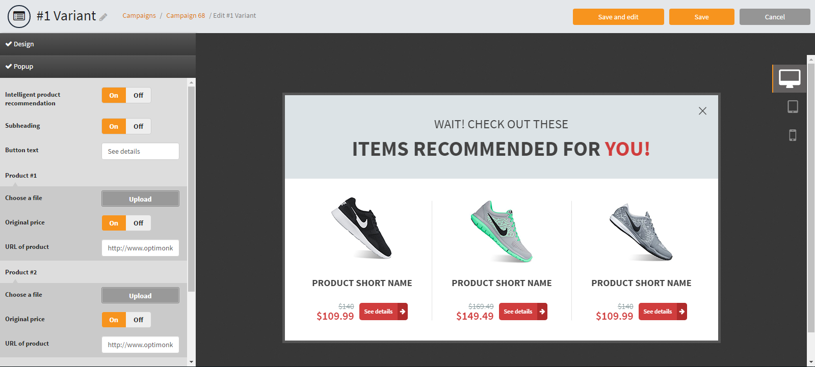 Intelligent Product Recommendation Template for Online Stores – Product Recommendation Template