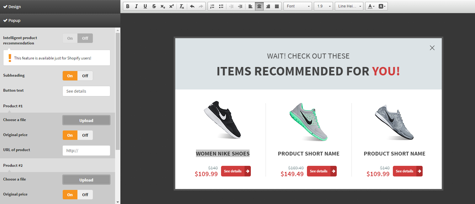 Superior Awesome New Feature: The Intelligent Product Recommendation Template For  Online Stores Is Here!