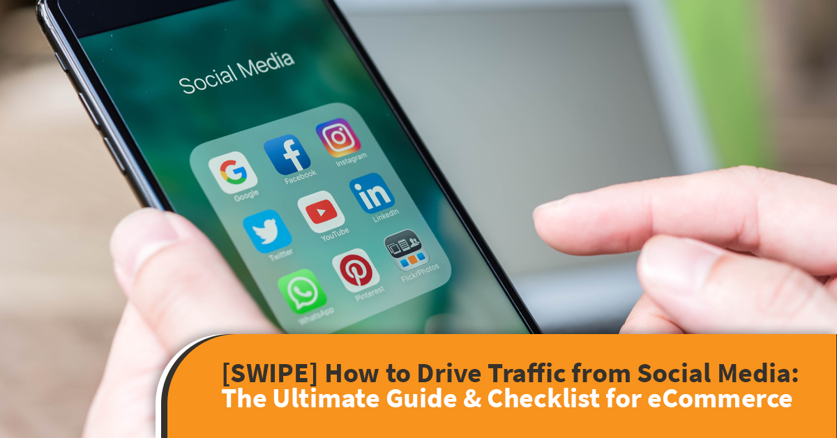how to drive traffic from social media