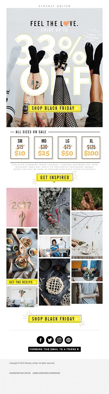 holiday season email marketing