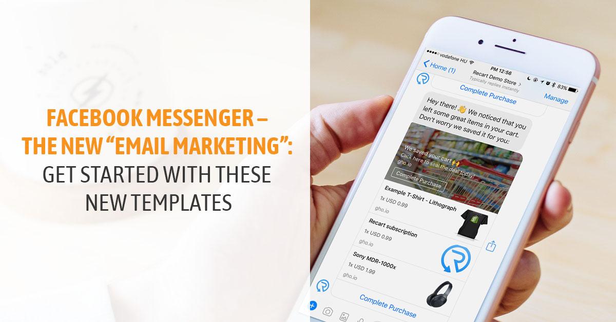 Facebook Messenger Templates
