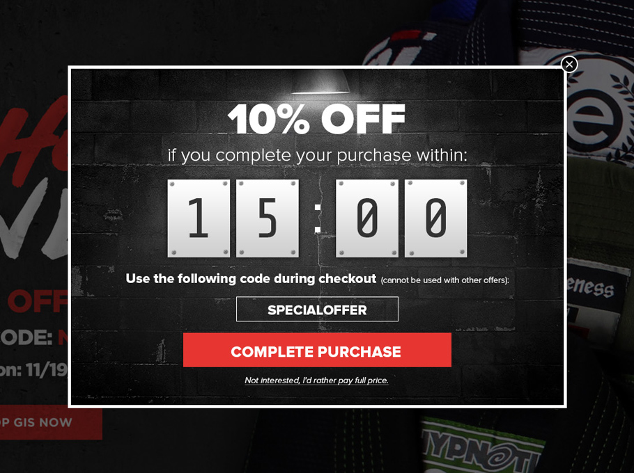 20 Popup Examples for Sales Promotion - MMAWarehouse