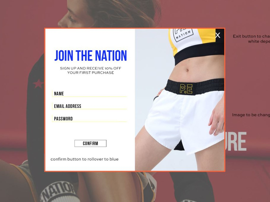 Pe-nation popup
