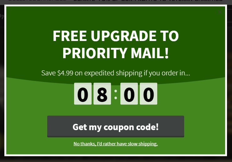 20 brilliant popup examples to reduce cart abandonment popup examples to reduce cart abandonment fandeluxe Choice Image