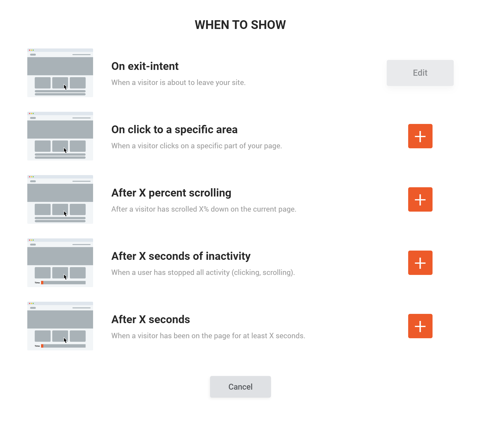 New, much easier menu logic for quick and effective personalization