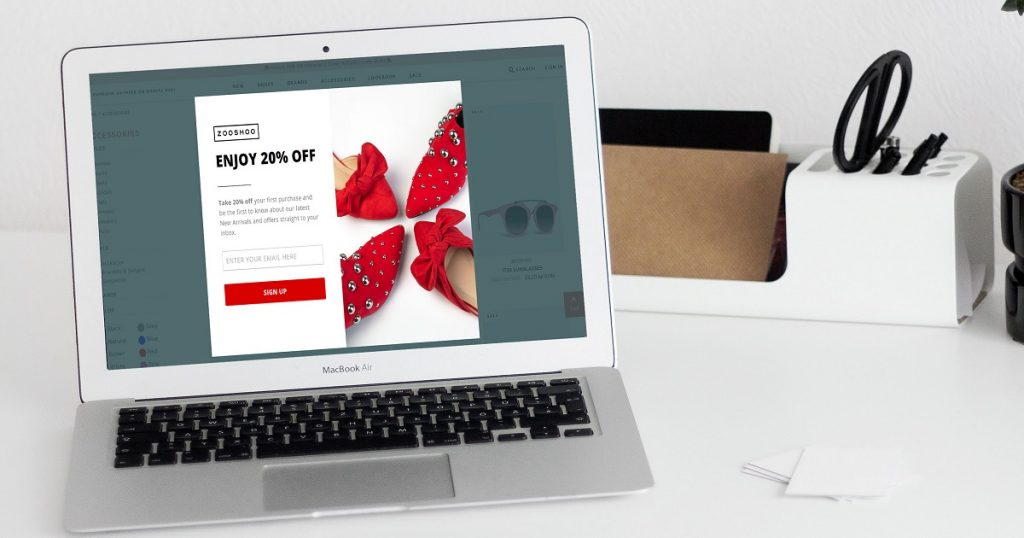 How a shoe retailer collected 56,000+ subscribers with coupon campaigns