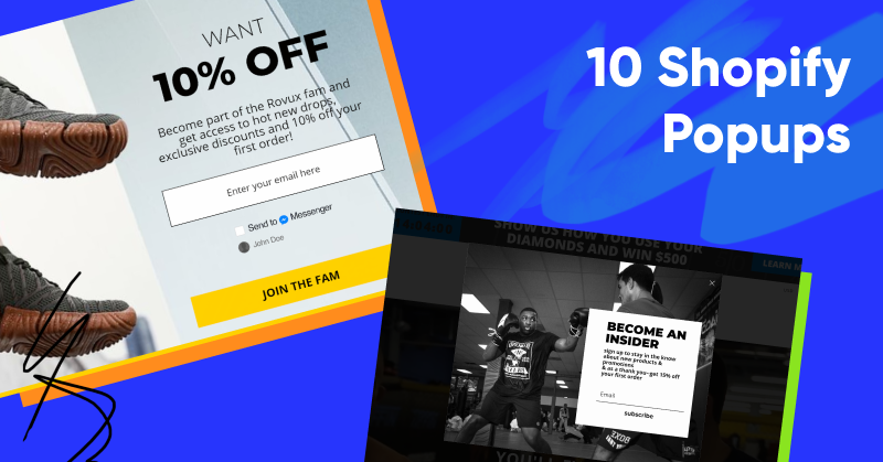10 Shopify Popups to Grow Your Revenue & Email Subscribers