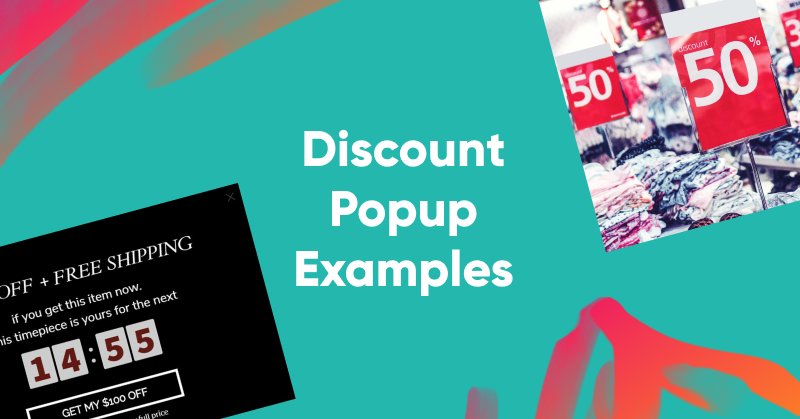 19 Popup Examples for Sales Promotion That Maximize Conversions