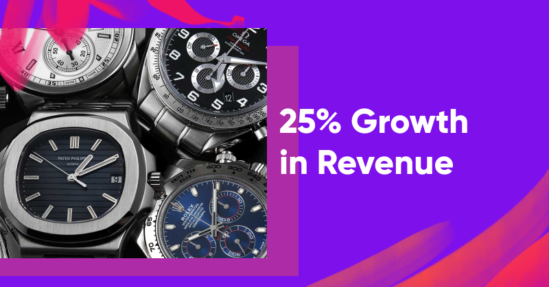 25% Growth in Revenue: SwissWatchExpo's Success Story